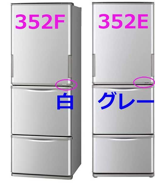 SJ-W352FとSJ-W352Eの違い